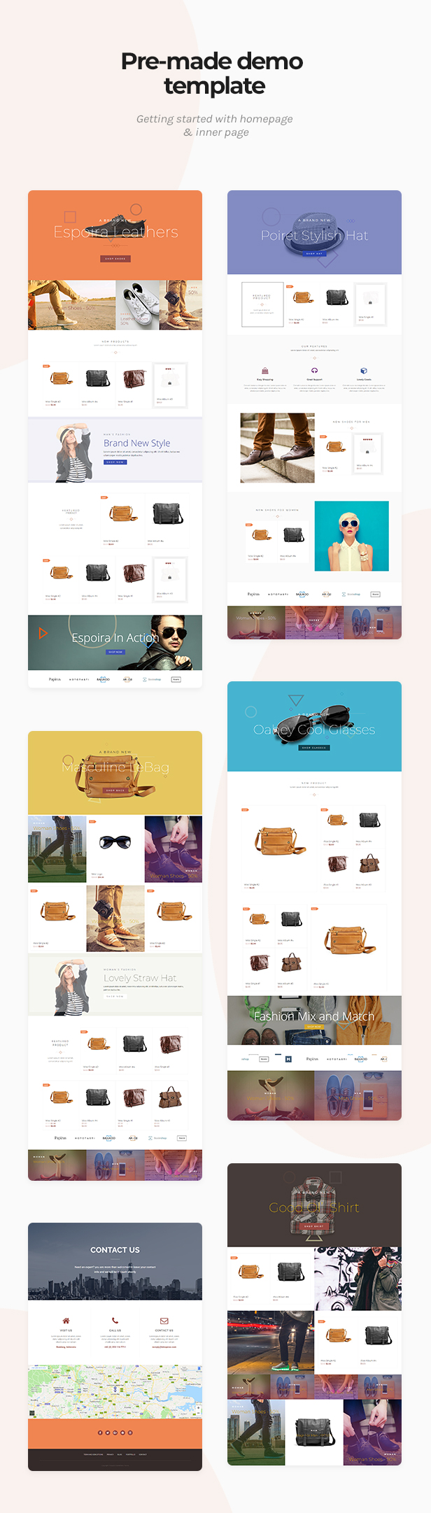 Espoira - eCommerce WordPress Theme - 1