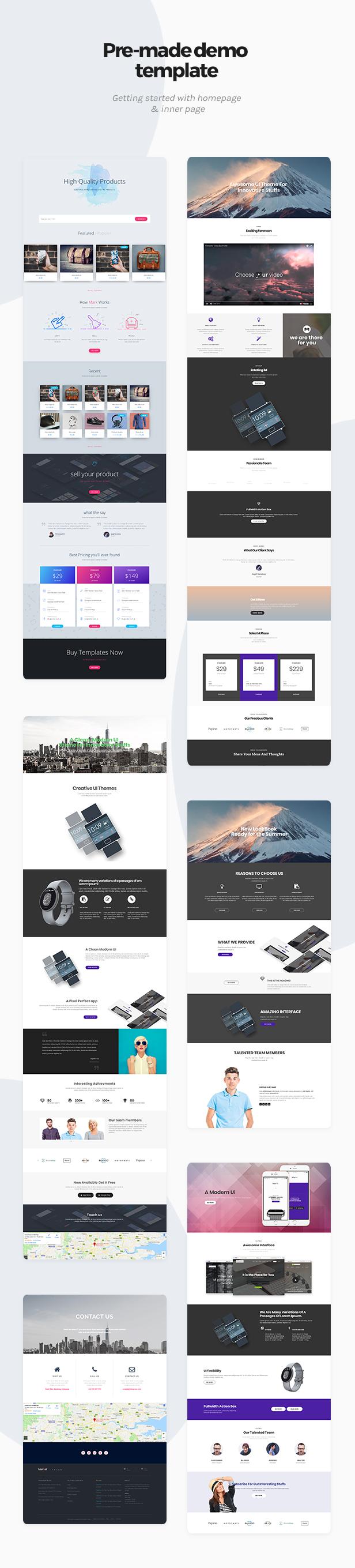 Market - Online Store WooCommerce WordPress Theme - 1