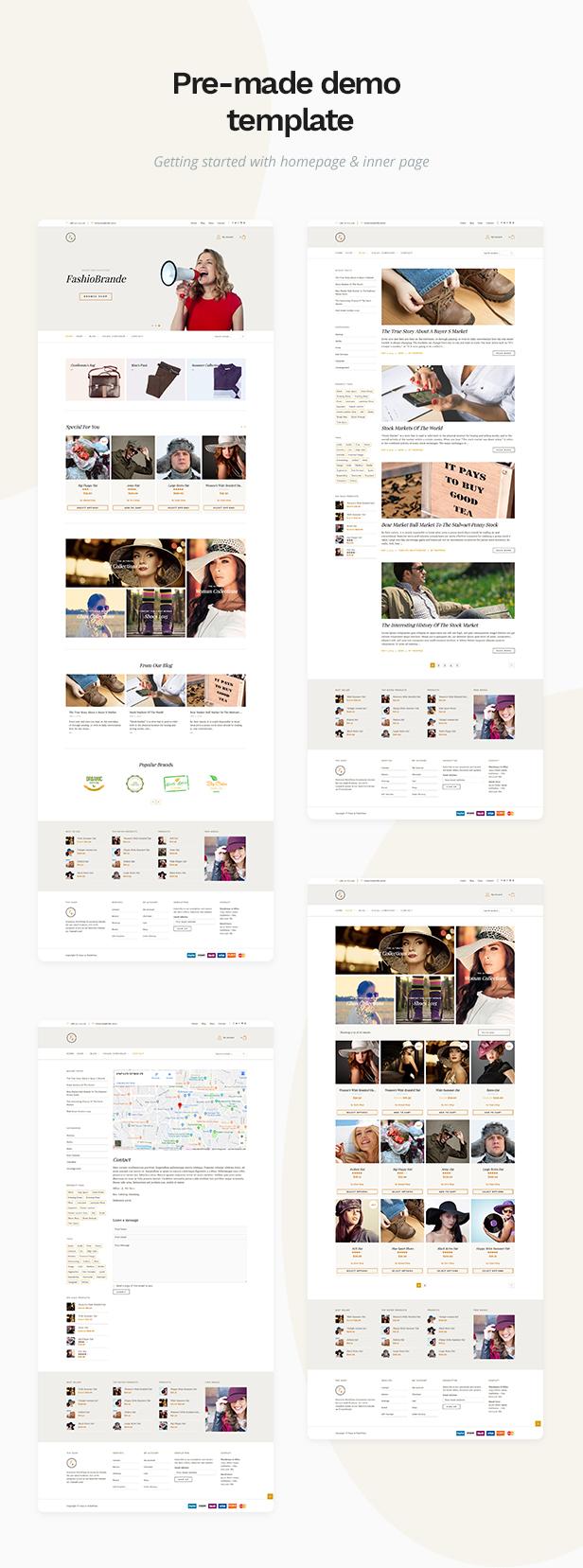 Pasar - eCommerce and Marketplace WordPress Theme - 1