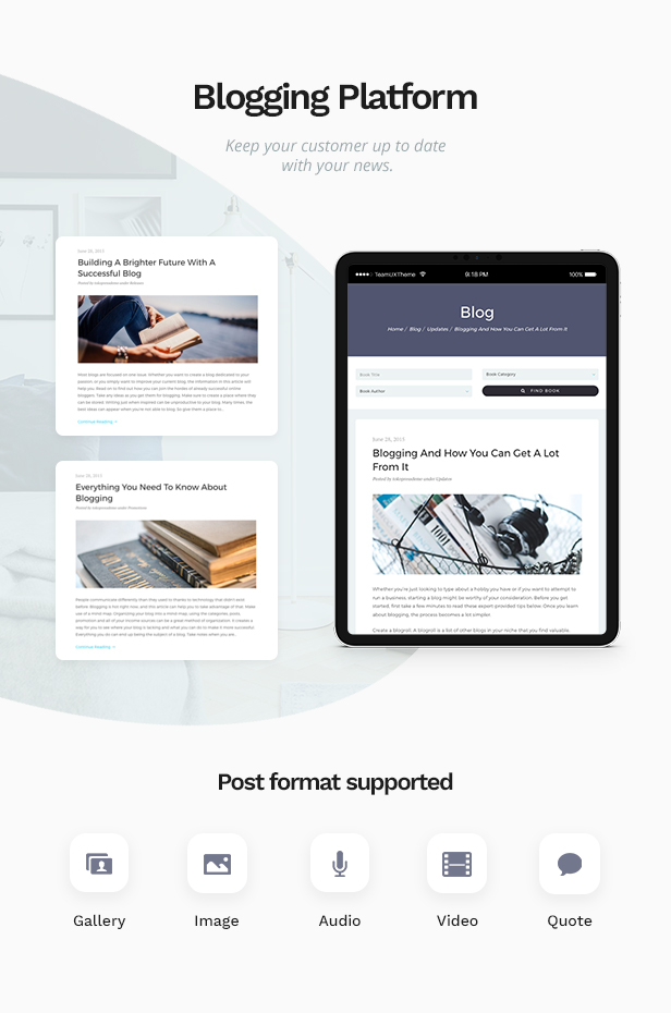 Bookie - WordPress Theme for Books Store - 2