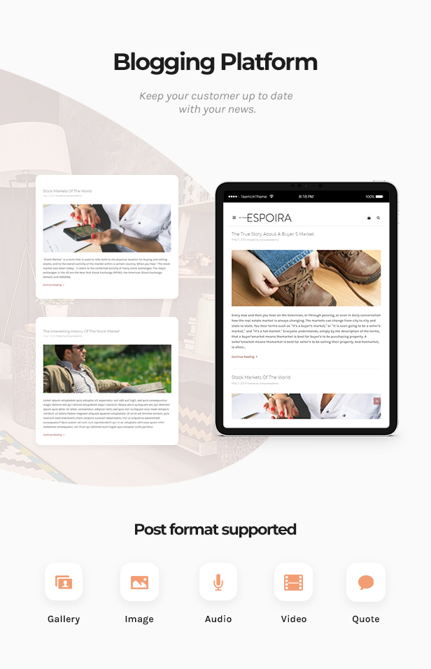Espoira - eCommerce WordPress Theme - 2