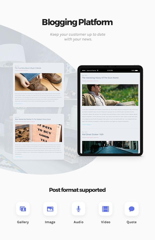 Market - Online Store WooCommerce WordPress Theme - 2