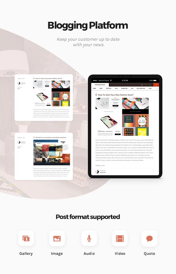Marketica - eCommerce and Marketplace - WooCommerce WordPress Theme - 2