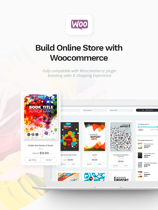 Bookie - WordPress Theme for Books Store - 4